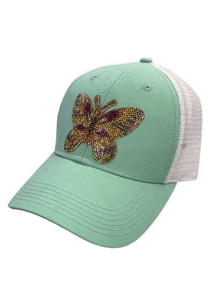 GLAM BUTTERFLY PATCH HAT