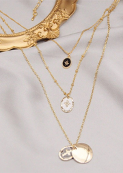 CROSS+STAR VINTAGE NECKLACE