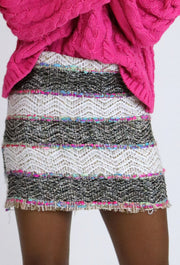 THE COCO TWEED SKIRT