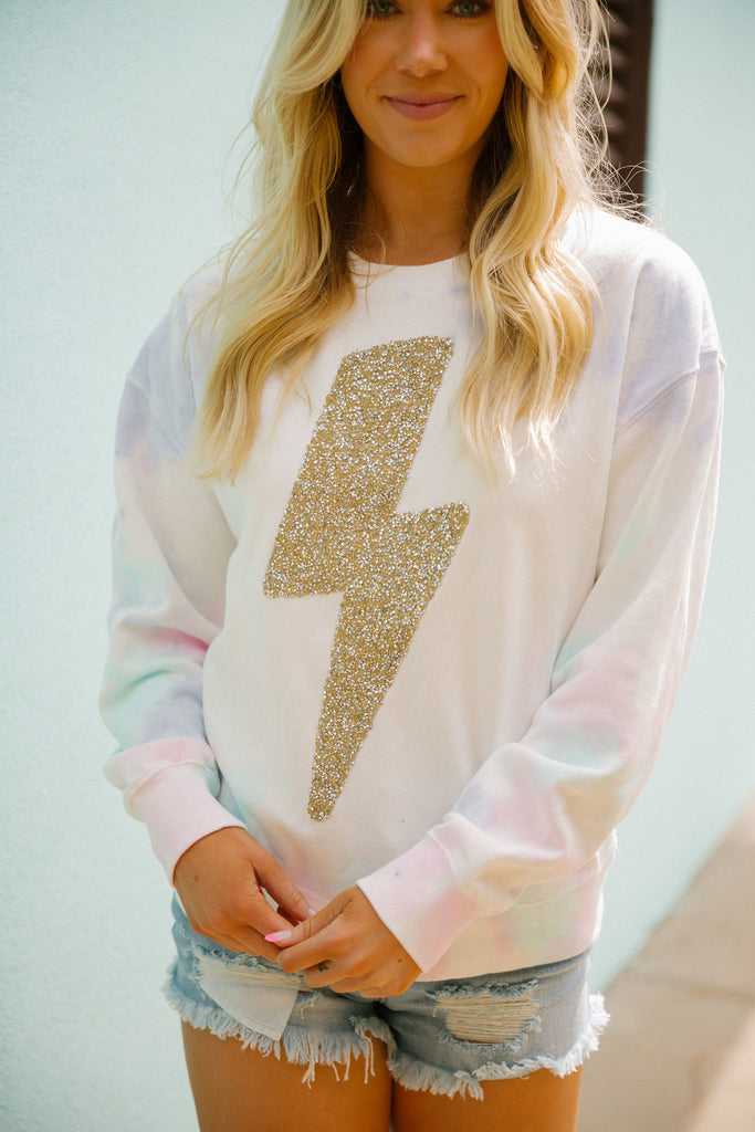 ELECTRIC VIBES PULLOVER