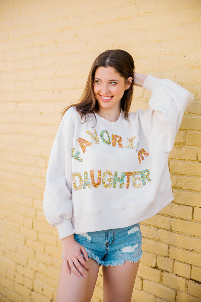 FAVORITE DAUGHTER PULLOVER