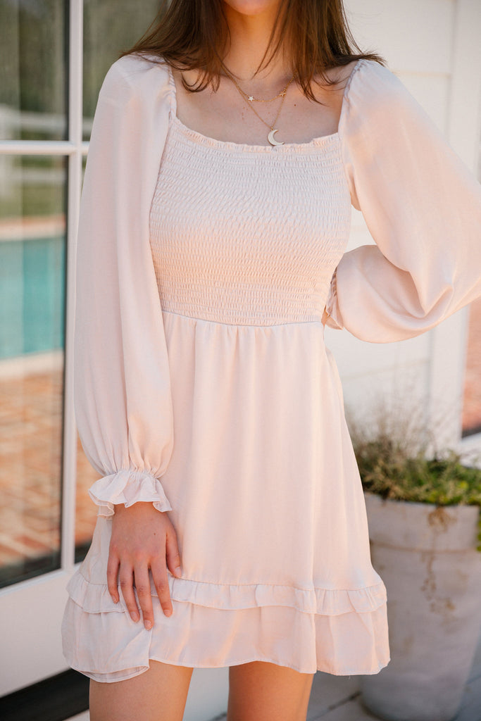 SIMPLY IRRESISTIBLE LONG SLEEVE DRESS