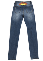 SUNSET STITCHED DENIM
