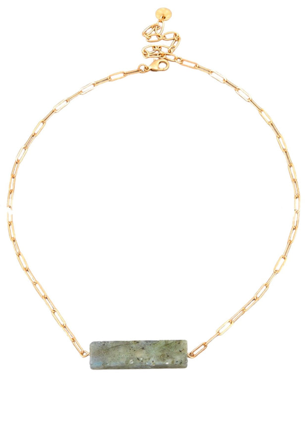 GRANITE MARBLE BAR NECKLACE