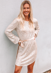 THE ELLA SEQUIN DRESS