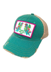 Judith March Tropic Like Its Hot Jade Hat