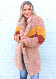 THE TEDDY SHERPA COAT