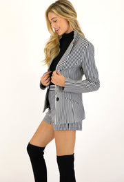 THE VINYL STRIPE BLAZER