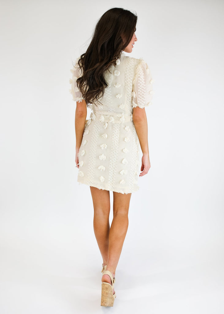 THE LOLA TIE FRONT DRESS