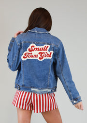 SMALL TOWN GIRL JEAN JACKET