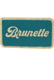 METALLIC BRUNETTE PATCH
