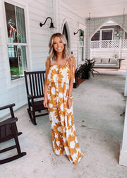 HERE COMES THE SUN MAXI DRESS