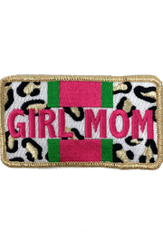 GIRL MOM LEOPARD PATCH