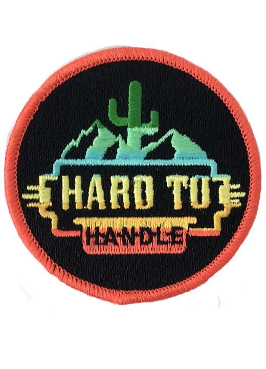 NEON HARD TO HANDLE PATCH - GREY
