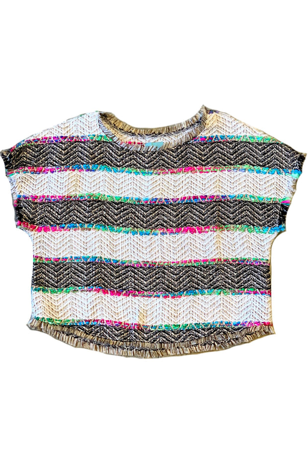 THE COCO TWEED TOP