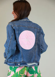 SHAKE YOUR PALM PALM DENIM JACKET