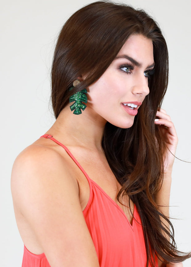PALM SPRINGS DREAM STATEMENT EARRING