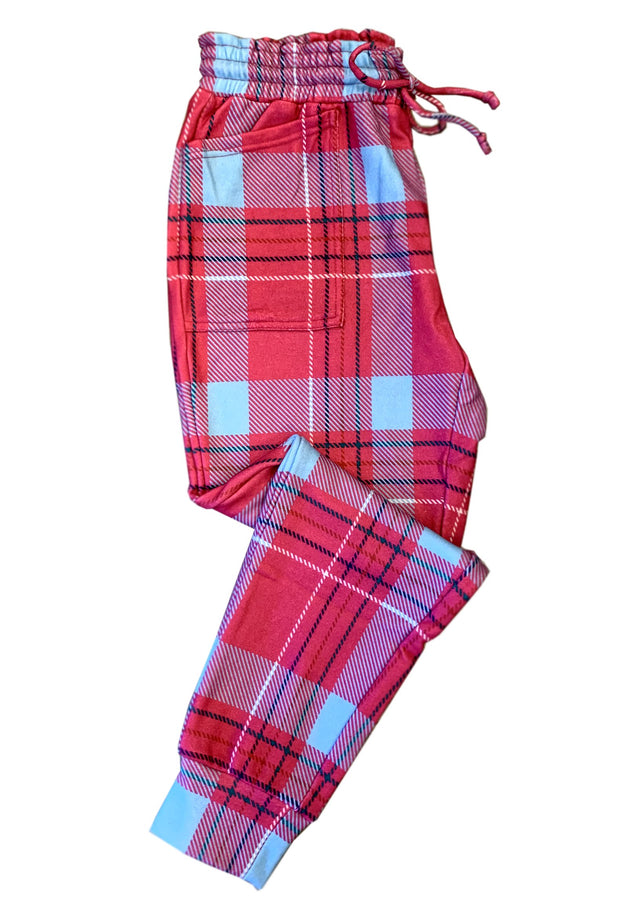 THE CLUELESS PLAID JOGGER