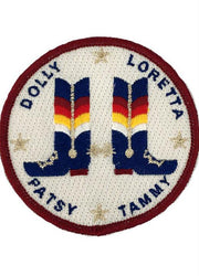 LADY LEGEND BOOTS PATCH