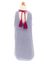 LINLEY CHAMBRAY DRESS FOR TWEENS