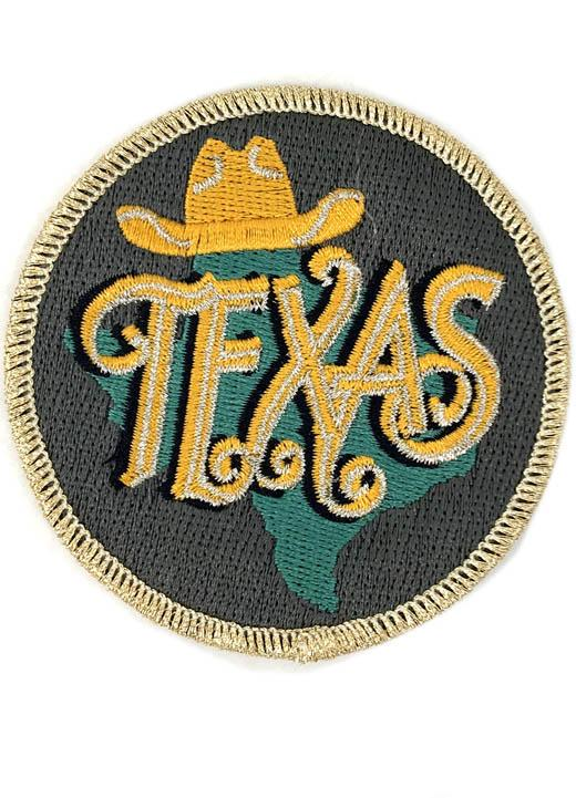 METALLIC TEXAS PATCH