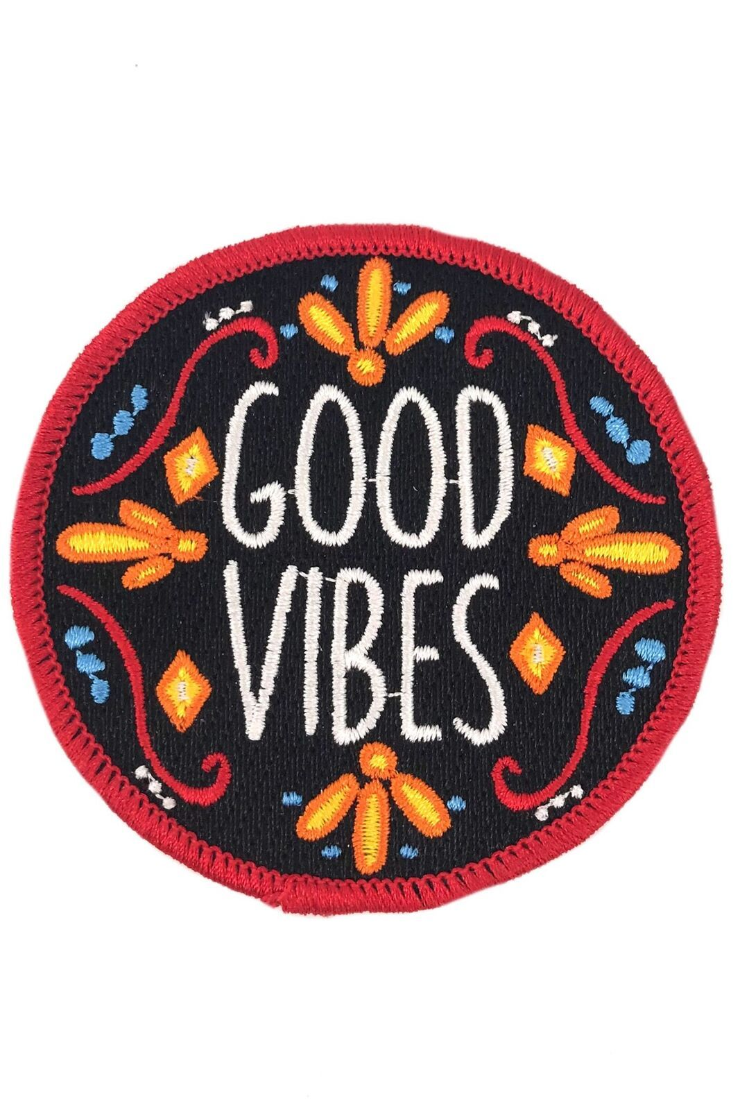 MIDNIGHT GOOD VIBES PATCH - GREY