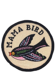 MIDNIGHT MAMA BIRD PATCH