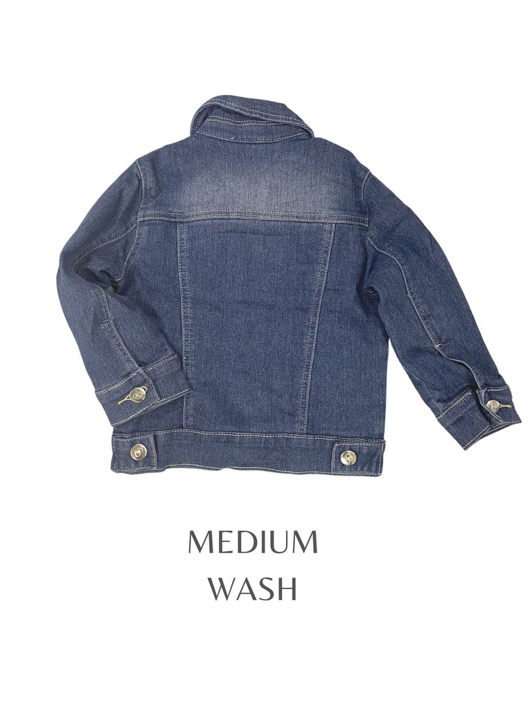 MINI JM CUSTOM KIDS DENIM JACKET