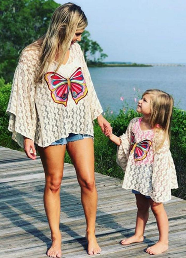OLIVIA CROCHET TOP FOR TWEENS