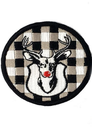 RED NOSE RUDOLPH PATCH
