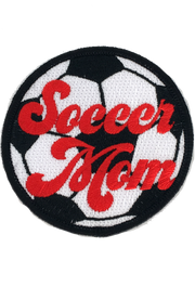 SOCCER MOM PATCH