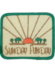 SUNSET SUNDAY FUNDAY PATCH