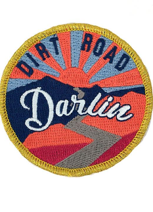 SUNSET DIRT ROAD DARLIN PATCH - BLUE