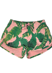 PALM SPRINGS DENIM TRACK SHORTS
