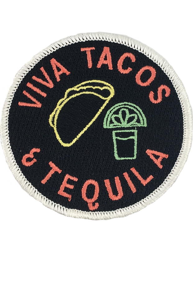 VIVA TACOS & TEQUILA PATCH
