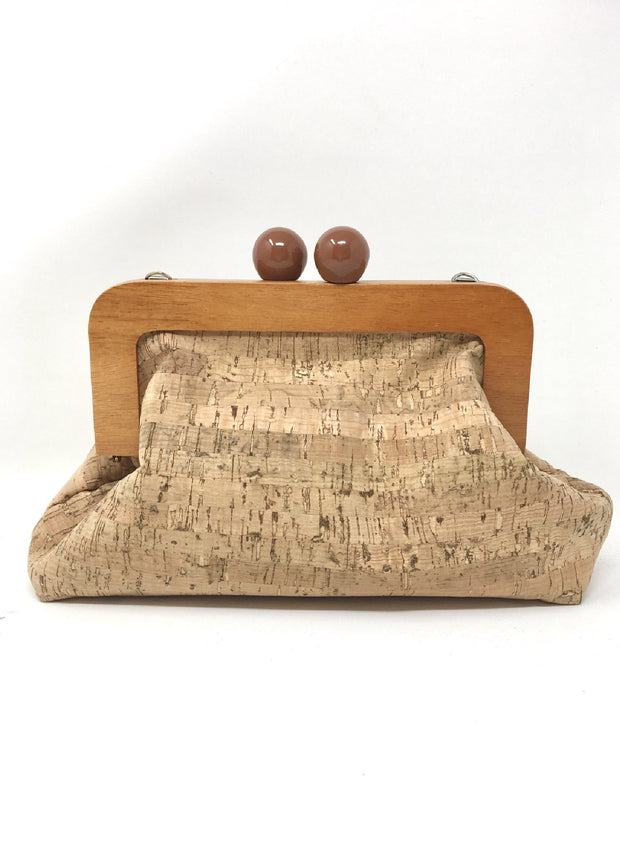 TAN CORK CLUTCH