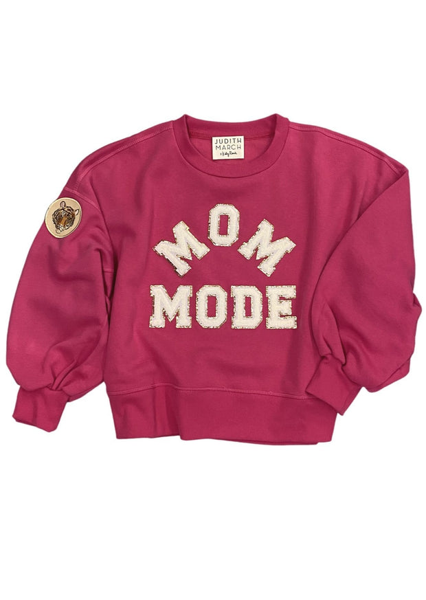 MOM MODE PINK PULLOVER