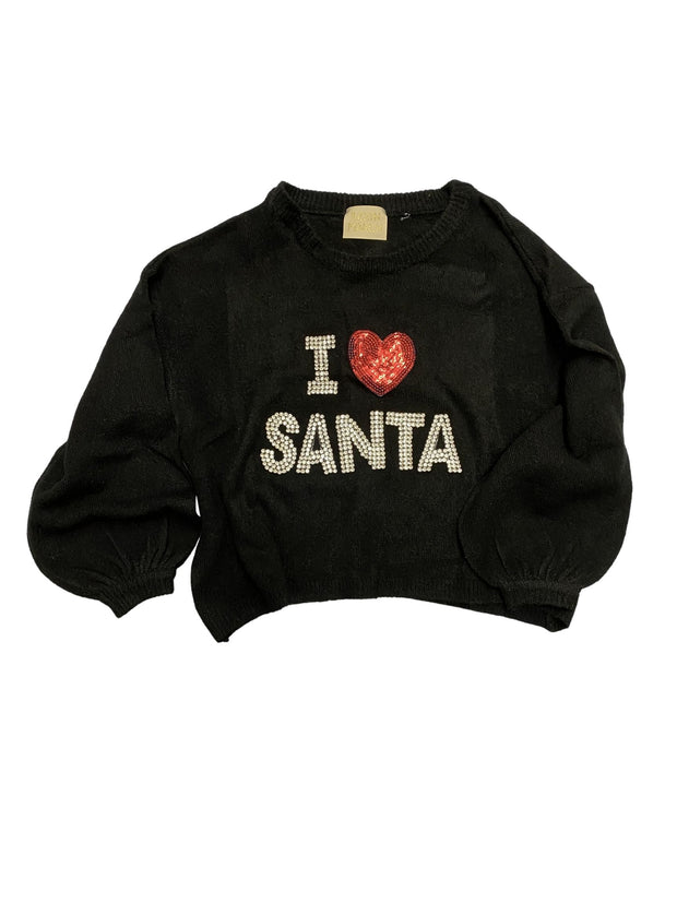 I LOVE SANTA SWEATER