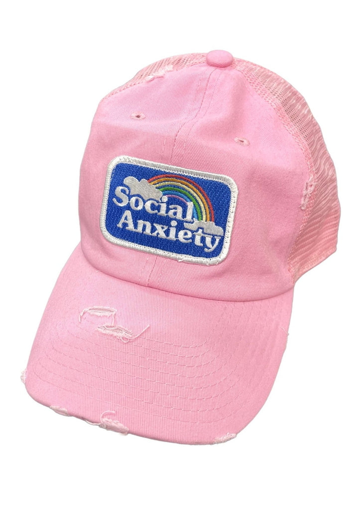 SOCIAL ANXIETY PATCH HAT