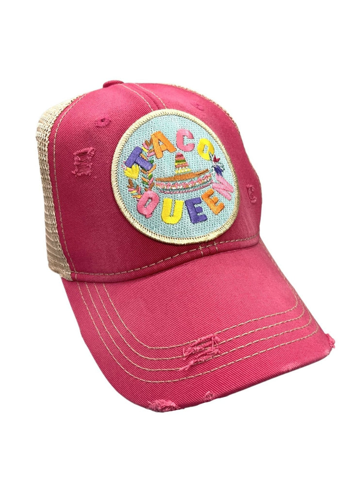 TACO QUEEN PATCH HAT