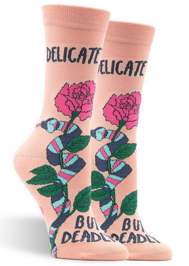 DELICATE BUT DEADLY SOCKS
