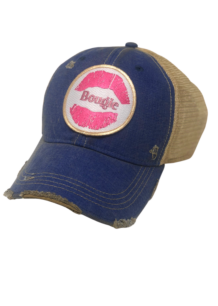 BOUGIE DISTRESSED HAT