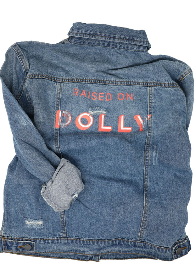RAISED ON DOLLY DENIM JACKET