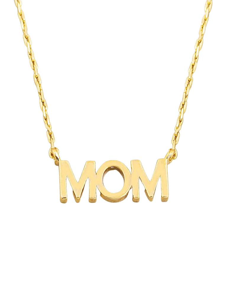 GOLD MOM NECKLACE