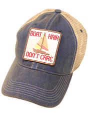 VINTAGE BOAT HAIR DON'T CARE PATCH