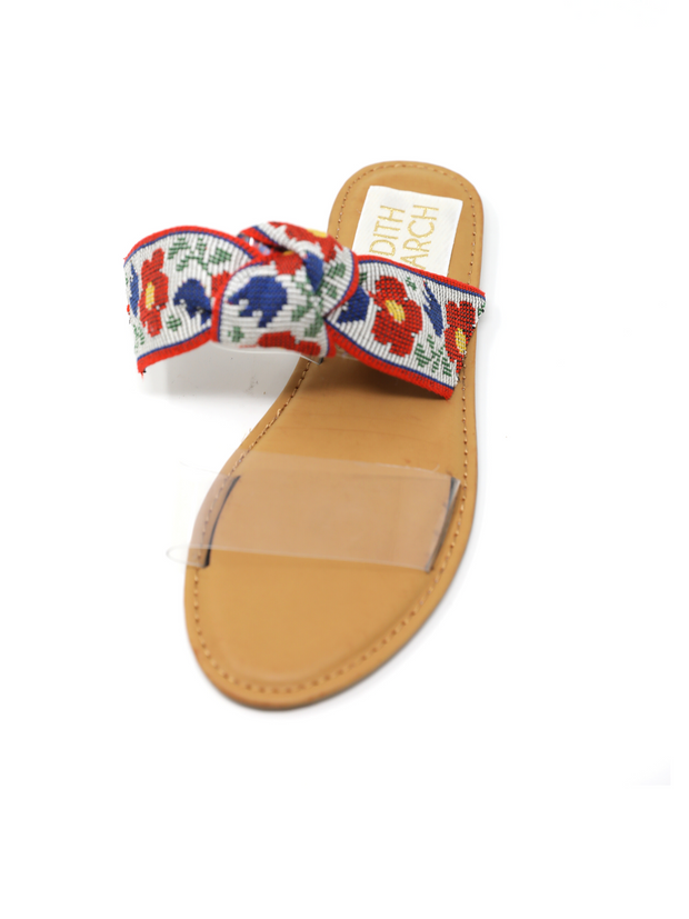 CUSTOM CLEARLY CARTER SANDAL
