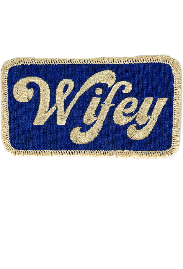 METALLIC WIFEY PATCH