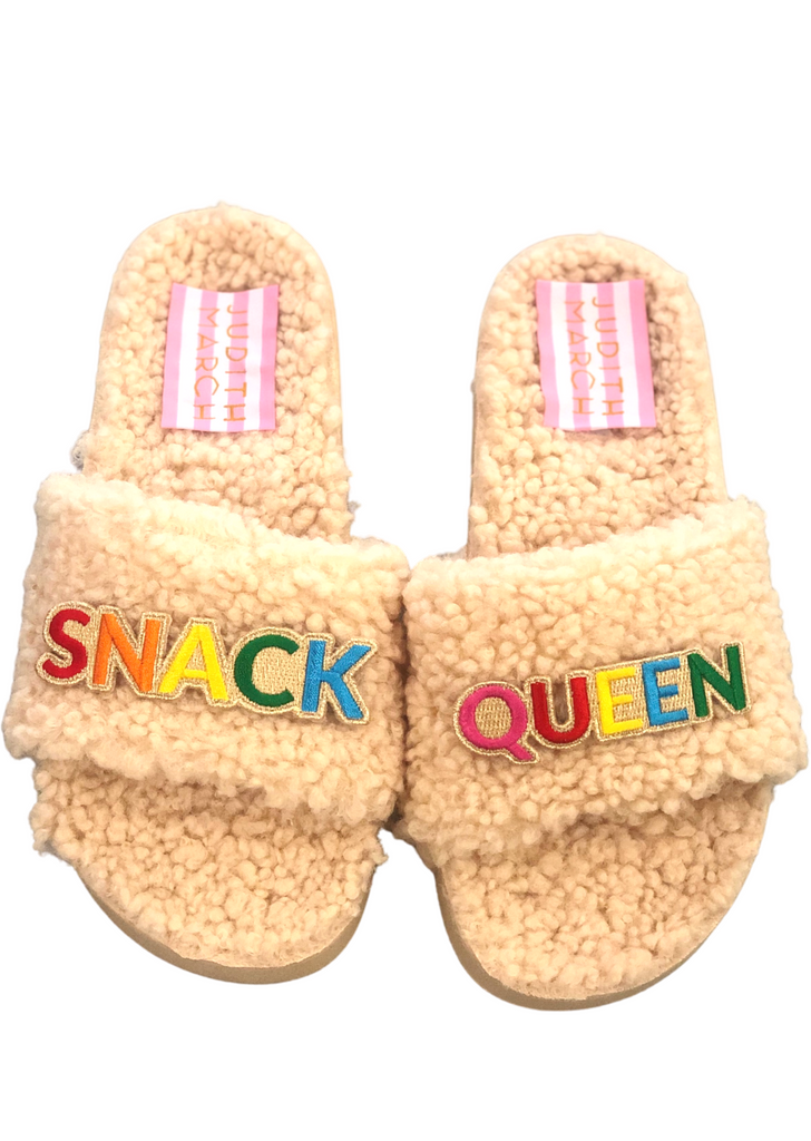 SNACK QUEEN SLIPPERS