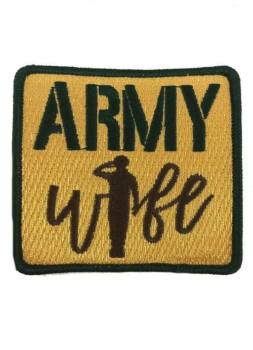 ARMY WIFE PATCH - CAMO