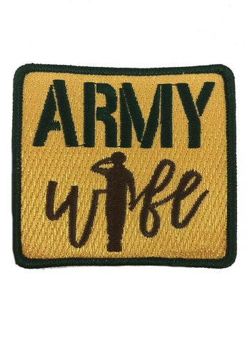 ARMY WIFE PATCH